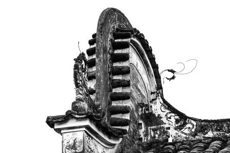 Guangdong wujia house eaves