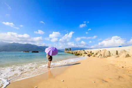 Hainan beach, China