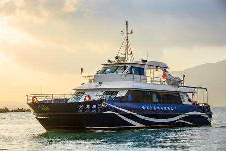 sanya yacht at Hainan, China