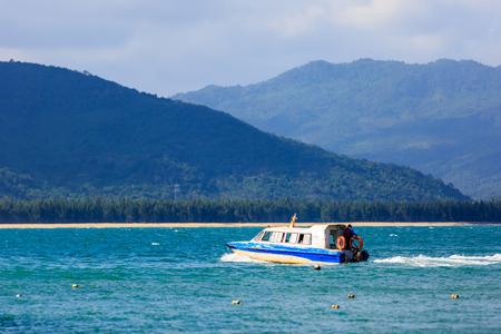 yacht at Hainan island , China