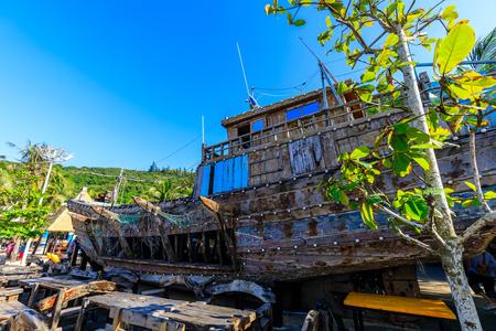 Hainan fishing boat, China