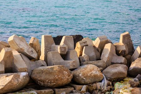 Hainan island stone, China 版權商用圖片