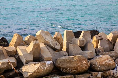 stone at Hainan island, China
