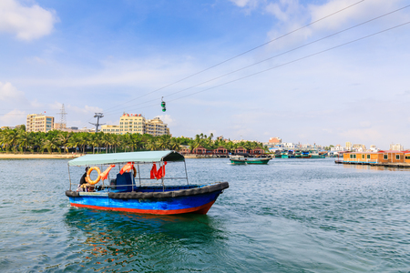 Nanwan Monkey Island, Hainan, China 에디토리얼