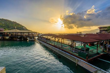 Hainan island under sunset, China Stock Photo