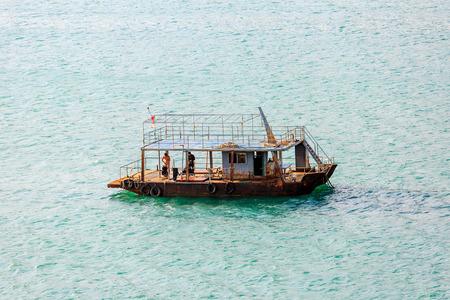 boat at Hainan sea, China