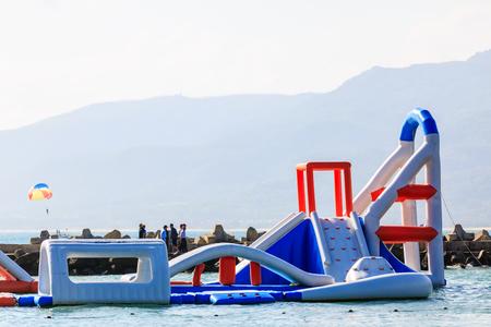 Hainan water sports, China