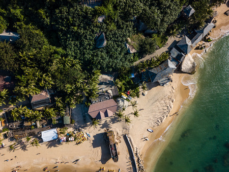 aerial view of Hainan island , China 版權商用圖片