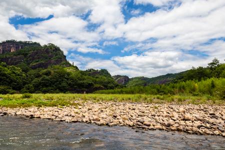 Jiuqu River Drifting, Wuyi Mountain, Fujian, China