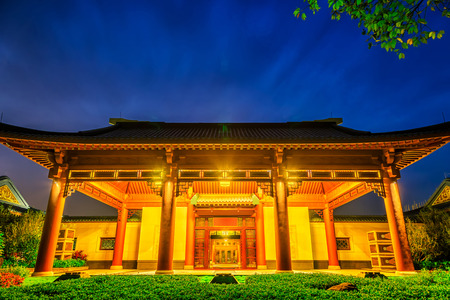 Chinese classical architecture Редакционное