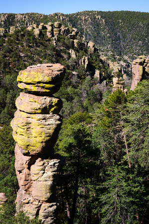 national monument: Chiricahua National Monument