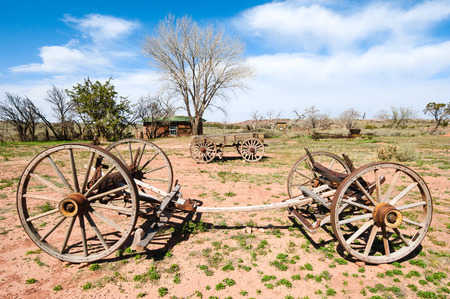 historic site: Hubbell Trading Post National Historic Site Stock Photo