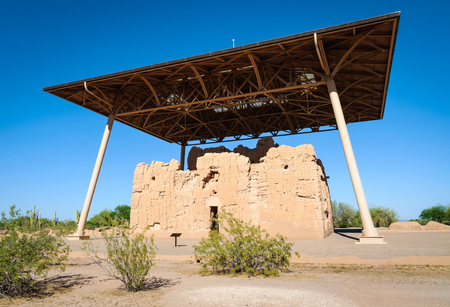 national monument: Casa Grande Ruins National Monument