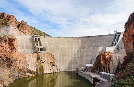 theodore: Theodore Roosevelt Dam Stock Photo