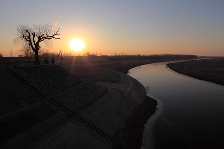 wei: Wei Canal Stock Photo