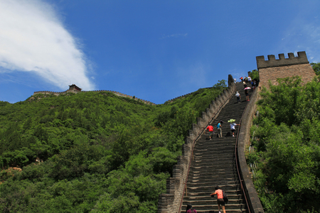 great: The great wall Stock Photo