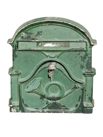 you've got mail: old mail box