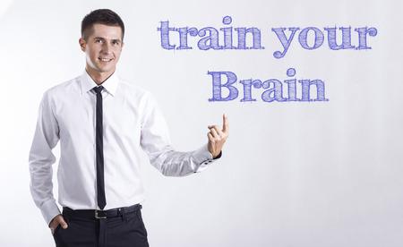 列車あなたの脳 - 本文 - 水平方向の画像を指して笑顔きしゃ