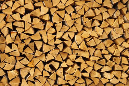 workable: Beautifully combined birch fire wood