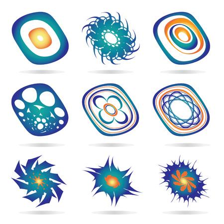 vector set of symbols  design elemnts Vector