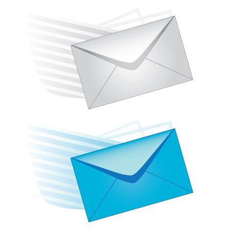 email us: icona di vettore di posta elettronica