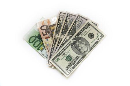 dolar: Dinero Foto de archivo