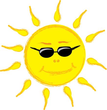 Sun Stock Vector - 5160435