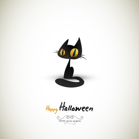 Halloween Cat | EPS10 Graphic | Separate Layers Named Accordingly Stock Vector - 10879367