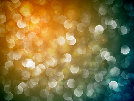 Flickering Lights | Christmas Background | EPS10 Vector with Separate Layers Vector