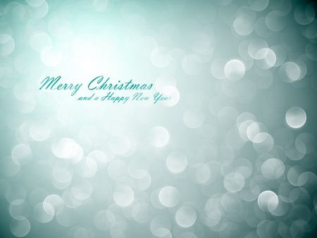 Flickering Lights   Christmas Background   EPS10 Vector with Separate Layers