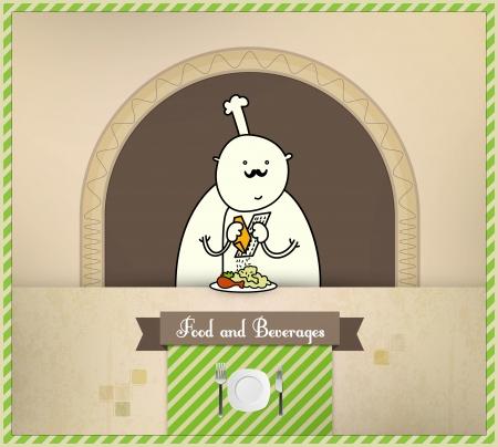 parmesan: Chef Preparing Food. Food and Beverages Series.
