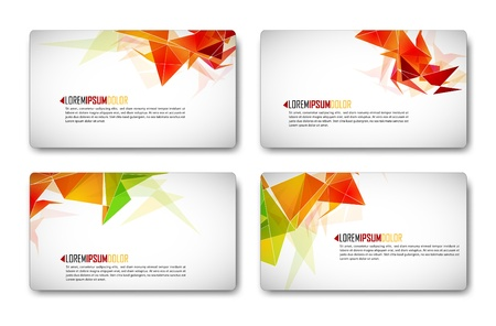 Modern Business-Card Set   EPS10 Compatibility Required  向量圖像