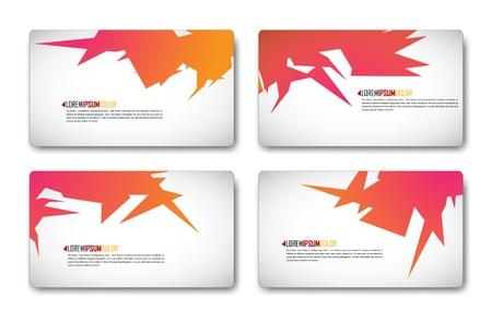 Modern Minimalistic Business-Card Set