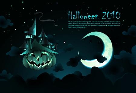 Halloween Invitation  向量圖像