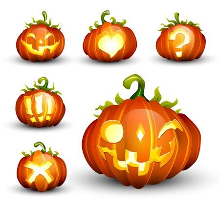 Spooky Pumpkin Set