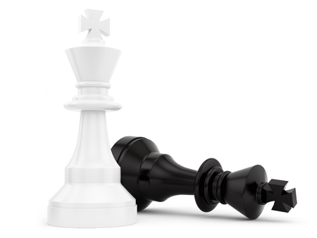 chess pieces: render of chess pieces
