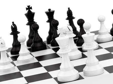 hacer de piezas de ajedrez