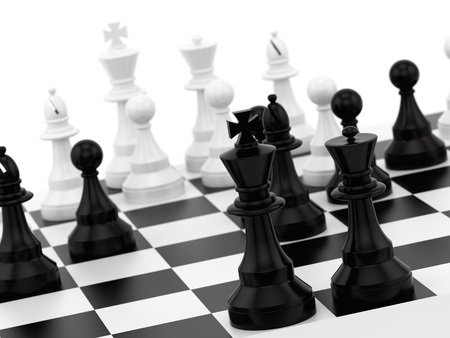 hacen de piezas de ajedrez