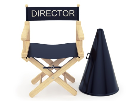render of a director chair  photo
