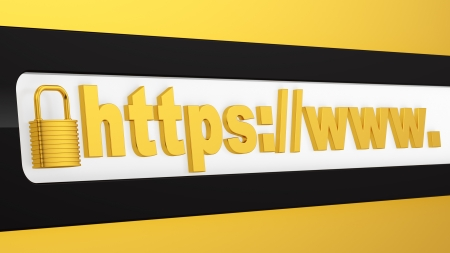 render of https protected web page