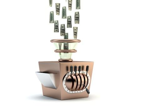 maker: Money maker concept  Stock Photo