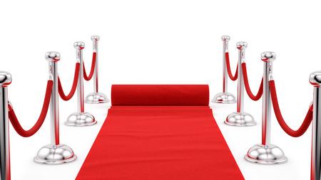 acomodador: hacer de candeleros de plata y una alfombra roja