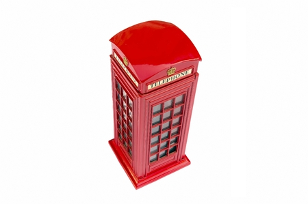 phonebox: Traditional British public phone-box
