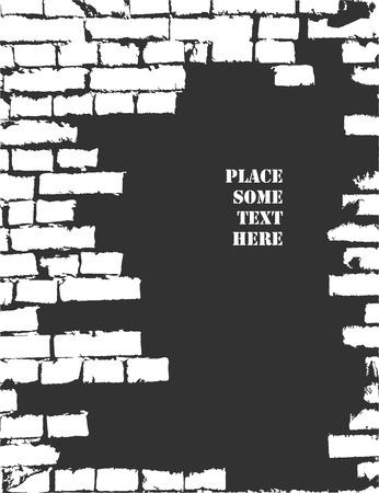 mur grunge: mur de fond