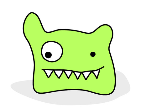 cute monster Stock Vector - 8432799