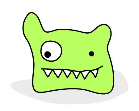 cute monster Stock Vector - 8432799