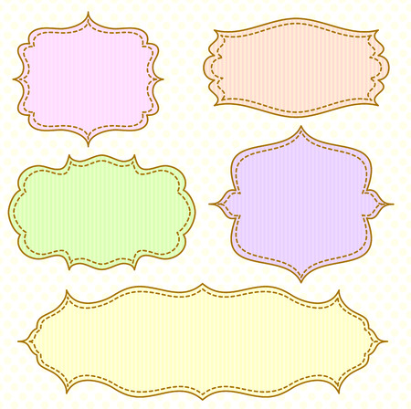 frame set Stock Vector - 8432805