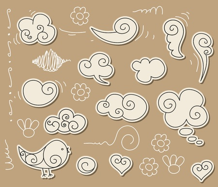 ali angelo: Doodle nube