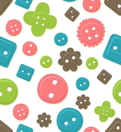 repeatable texture: Patr�n de bot�n sin problemas enlosables, coloridas Vectores