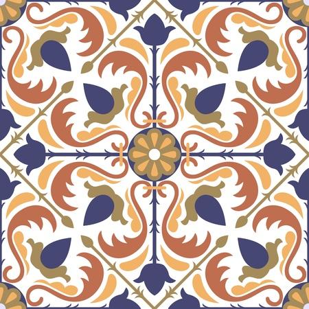 Colorées tuiles de style arabe - seamless pattern Banque d'images - 13626521